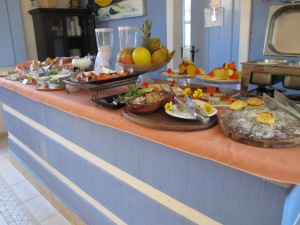 Villa Alferes - Buffet do café da manhã