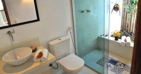Banheiro - Foto retirada do site: www.casinhasdabahia.com.br