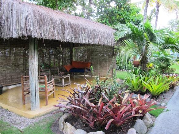 Área comum da Pousada Casinhas da Bahia