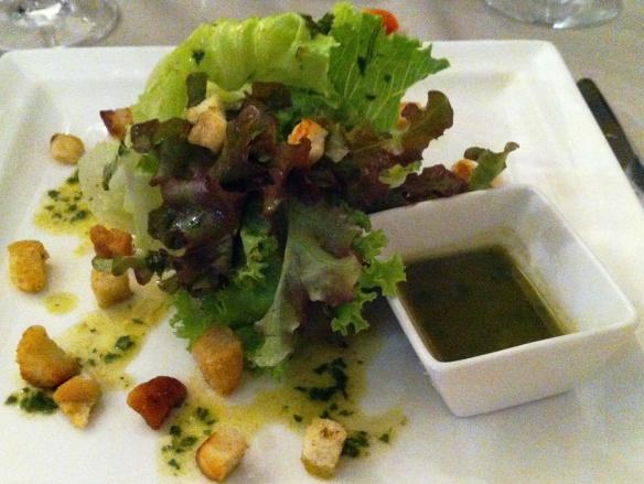 O Conde - Entrada: Salada de verão - Restaurant Week