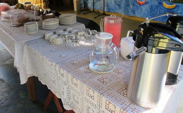 Buffet de Café da Manhã - Casinhas da Bahia
