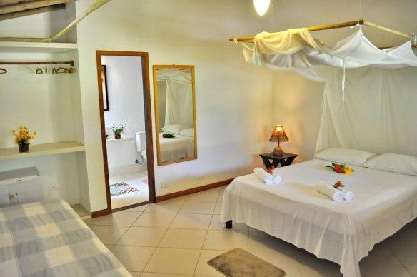 Quarto - Foto retirada do site: www.casinhasdabahia.com.br