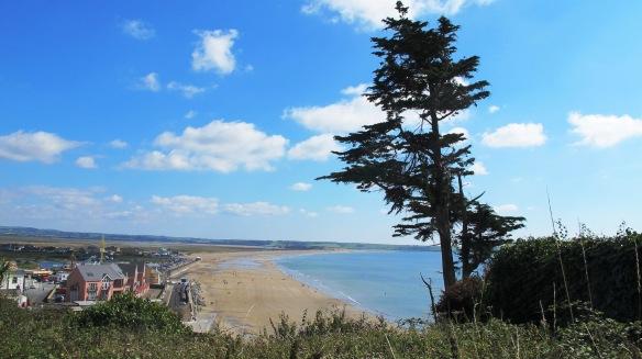 Praia de Tramore que fica 10km do centro