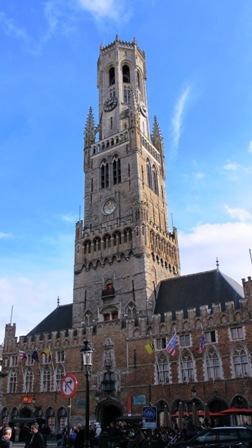 Bruges, Bélgica, Pontos Turísticos