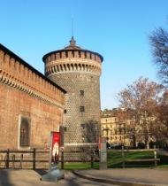 Castello Sforzesco - Milão, Itália 3