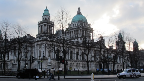 City Hall e Memorial do Titanic em Belfast 3